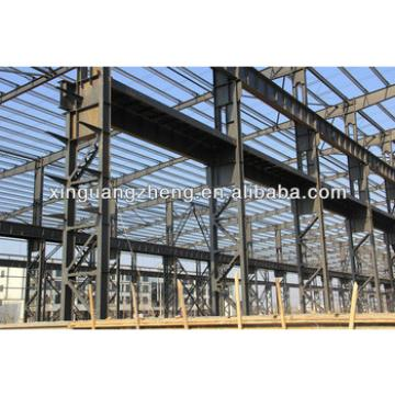 light prefabricated gable steel structure frame warehouse