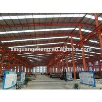 ISO standard metal frame color cladding prefabricated warehouse price