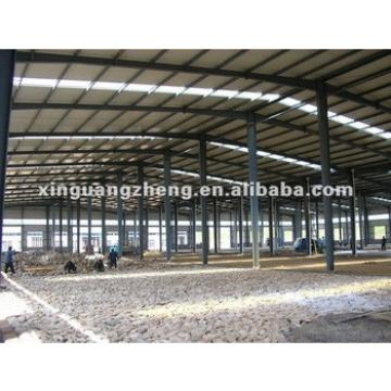 Prefab construction design metal frame warehouse