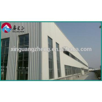 construction design prefabricated steel portal space frame structure easy install warehouse
