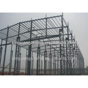 big prefab portal frame steel structure pre fabricated building warehouse