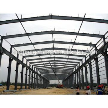 galvanized pre engineered steel frame building