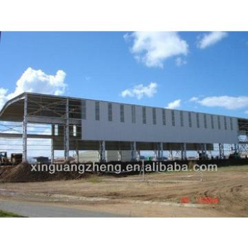 structural steel frame roof construction warehouse