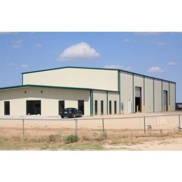 Steel structure building as warehouse building