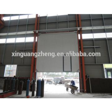 large span portal frame structural steel prefabricated warehouse