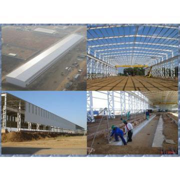 light steel warehouse with crane