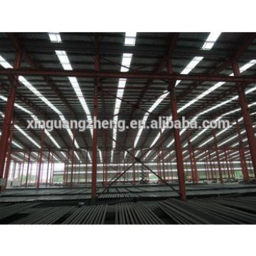 light weight portal frame structural steel prefabricated warehouse