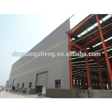 light weight modern portal frame structural steel prefabricated warehouse