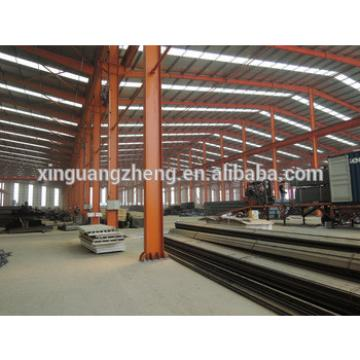 anti-earthquake steel structure pre assembled fabricated manufactured warehouse