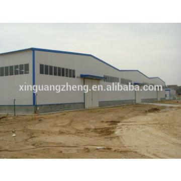 construction design steel portal space frame structure fabrication easy install warehouse