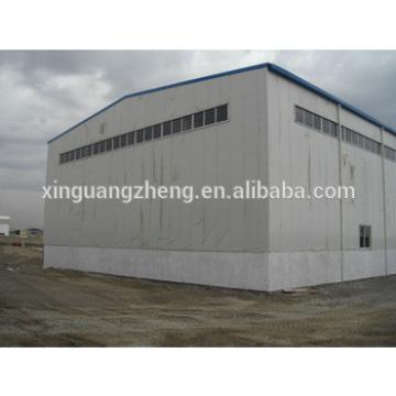 China large span steel portal space frame structure fabrication quick build warehouse