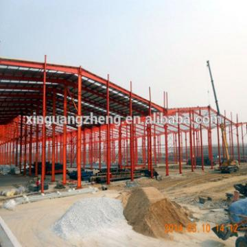 qingdao pre engineered steel structure light steel truss frame warehouse