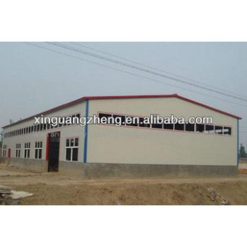 prefabricated cement steel frame warehouse