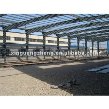 Light prefabricated structural steel warehouse