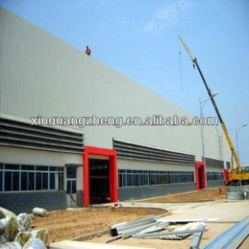 steel structural workshop construction with installation guidance