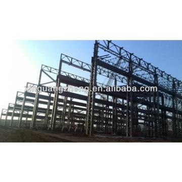 light structural steel metal roofing framing pre engineering fabrication warehouse