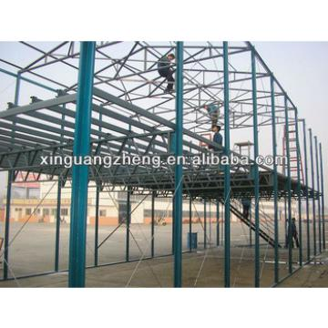 wide span steel structure building modular fabricated construction warehouse
