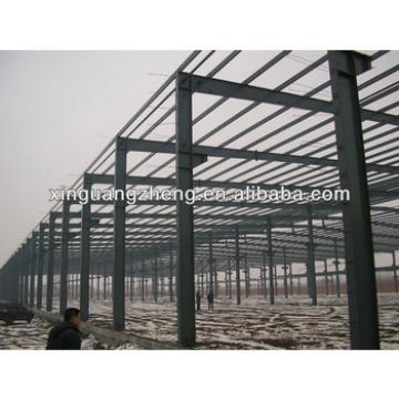 light steel structure frame warehouse project prefab steel factory warehouse