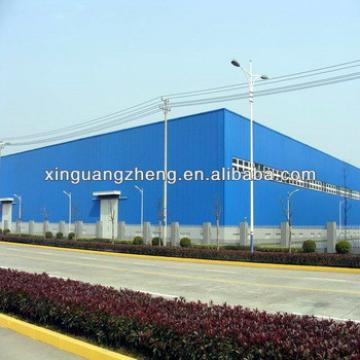 Prefabricated Small Steel Structure Warehouse/Storage Shed with Sandwich Panel Wall & Roof Panel