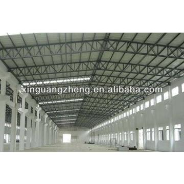 modular cheap lightweight prefabricated portal frame steel structure warehouse hangar
