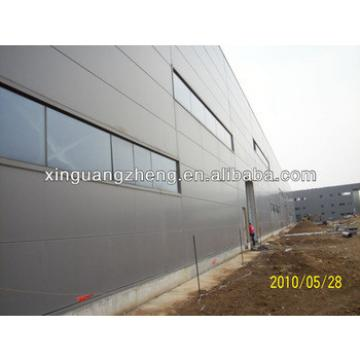 anti-earthquake light metal roof steel frame structure warehouse