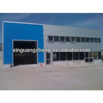 steel shade structure for workshop