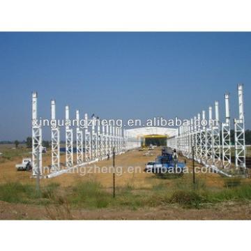 Light Steel Prefabricated Warehouse / Hangar