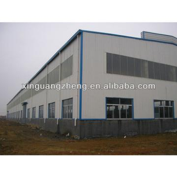anti-earthquake light roof steel frame structure warehouse building