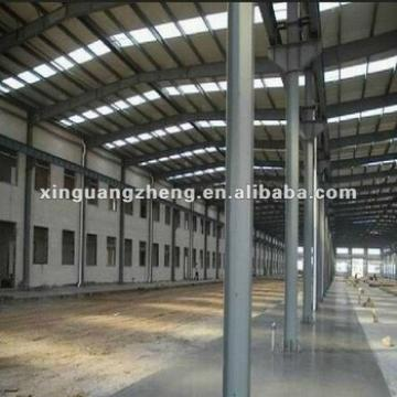 Steel structure warehouse with long Lifespan, Earthquake and Wind Resistance