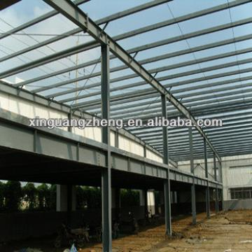 light weight fabricated metallic steel structure industrial warehouse construction