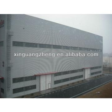 light high rise pre fabricated steel structure commercial building warehouse construction for sale