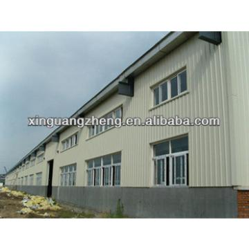 light high rise pre fabricated steel structure factory building warehouse construction for sale