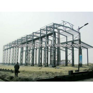 light steel frame structure fabricated modular construction building warehouse