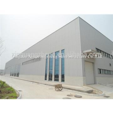 China cheap light steel fabricated warehouse