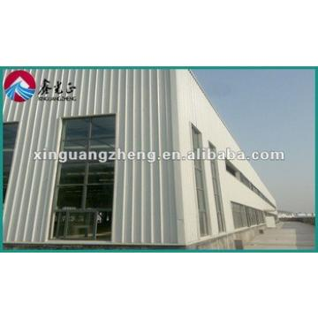 china light prefabricated steel frame structure warehouse