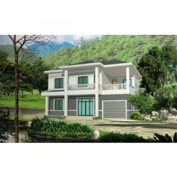 Prefabricated Rural Villa With Light Steel Frame , Quick Assemble Prefab Modular Housing