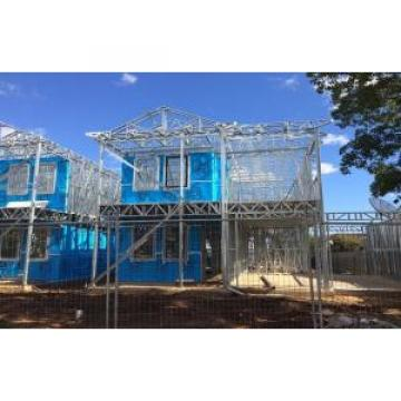 High quality light Steel Frame Prefab Villa / Quick Assemble Prefab Homes