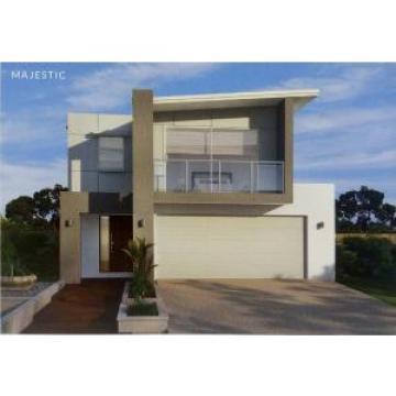 Prefabricated Luxury Villa Steel Frame Houses With PU Sandwich Panel Insulation