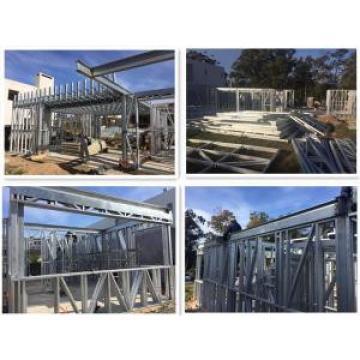 Eco-friendly fireproof soundproof prefab light steel frame house