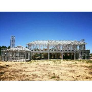 Earthquake Resistant Prefab Villa Prefabricated Luxury Villa Light Steel Frame House