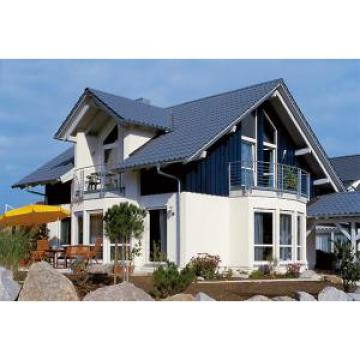 Russian Style Prefab House Villa / Light Steel Frame Pre Manufactured Homes