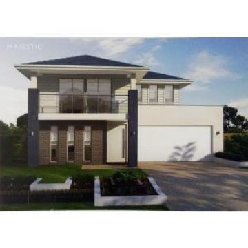 Luxury Light  Steel Structure Prefab Villa Aluminum Alloy Window Modern Modular Homes