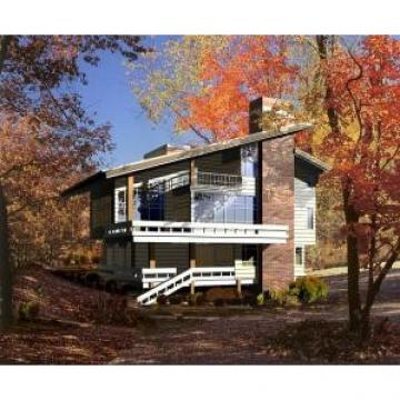 Steel Prefabricated / Prefab Villa , ISO Luxury Architectural Prefab Homes