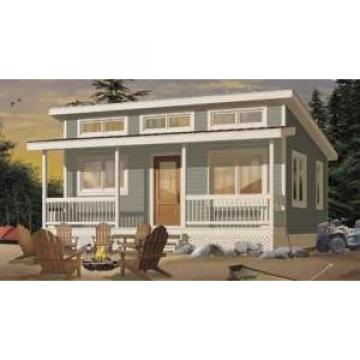 Prefab House Kits Prefabricated House Kit , Small Villa Design / Wpc Wall Clading