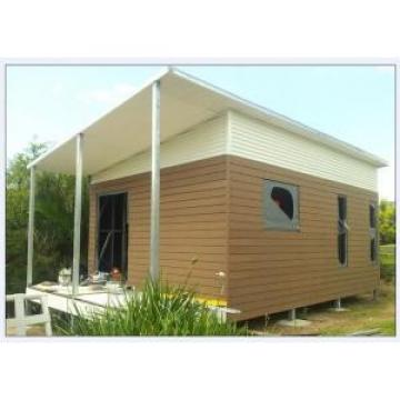 Australia Style Prefabricated House Kits , Modern Prefab House With WPC cladding