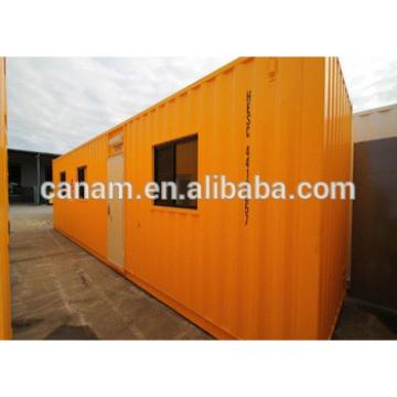 China new modifying shipping containers prefabricated office camp
