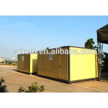 China manufacture Economic Yellow Mobile Office Containers 20 Feet