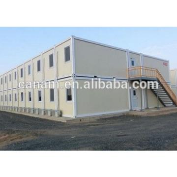 two layer flat pack iron structure container house for office