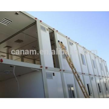 ISO,CE certificated modern living container house flat packed