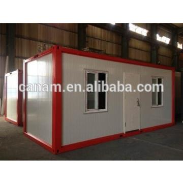 Classical style flatpack container house for labor dormitory rooms